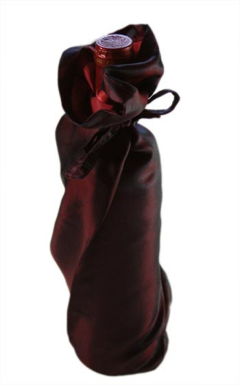 Wine Bags Soft Silk Set of 10