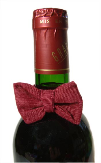 Bow Tie Wine Drop Catcher Small 10 pieces